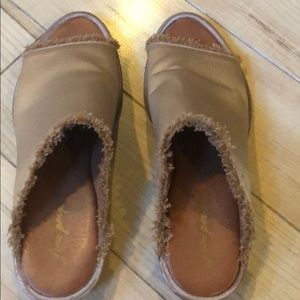 Free People Gorgeous Slip On Sandals Size 40